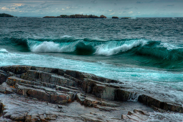 Waves at Scoville Point