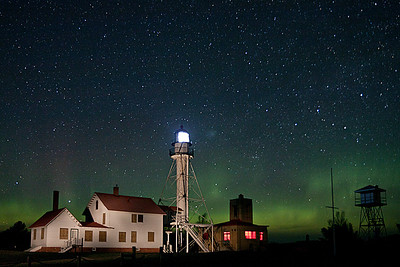 Whitefish Point Aurora 2