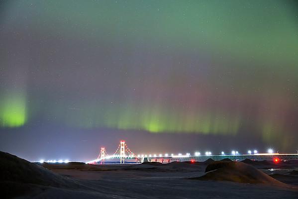 Big Mack under the Northern Lights